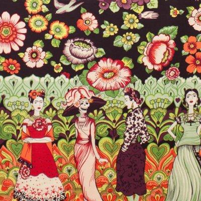 Frida con Flores
