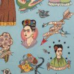 Frida Tradicional Turquesa