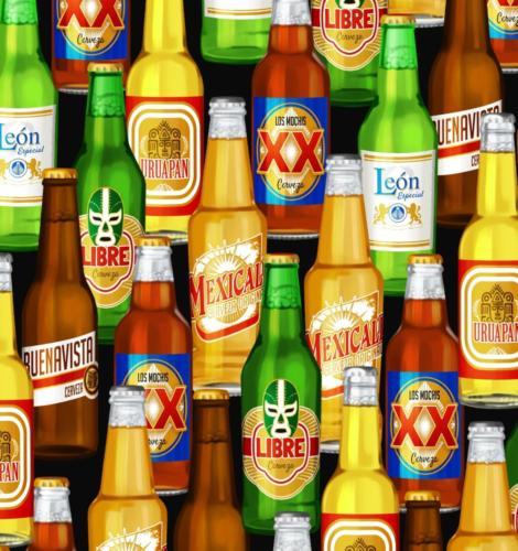 Popular Mexican Beers / Cerveza Mexicana