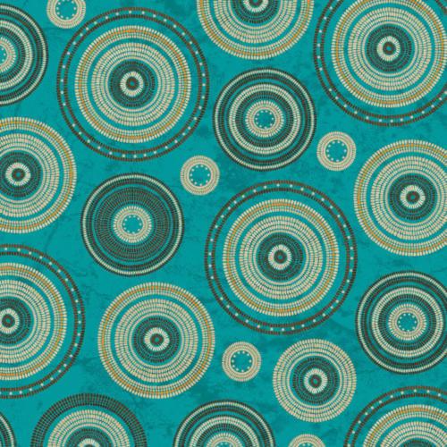 Circles Turquoise / Circulos Turquesa
