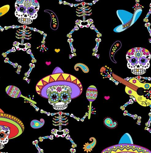 Skeleton Musicians / Los Musicos Muertos