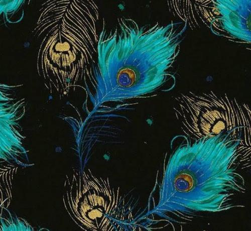 Turquoise Feathers / Plumas Azul