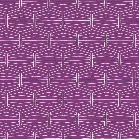 Geometría-Morado / Purple Geometry